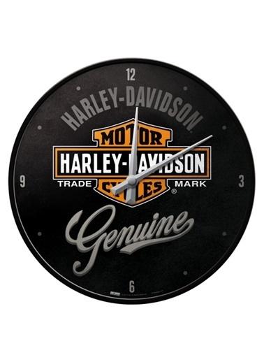 Nostalgic Art Harley Genuine Duvar Saati Renkli